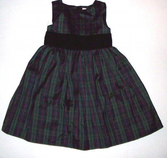 GYMBOREE NWT Holiday Classics Plaid Dress 3T