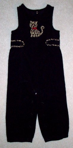 GYMBOREE Glamour Kitty Overalls NWT 12-18m