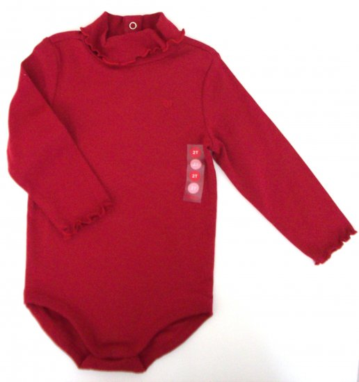 GYMBOREE Glamour Kitty Red Bodysuit NWT 2T
