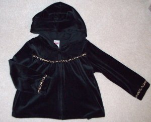 GYMBOREE Glamour Kitty Hoodie NWT 4T