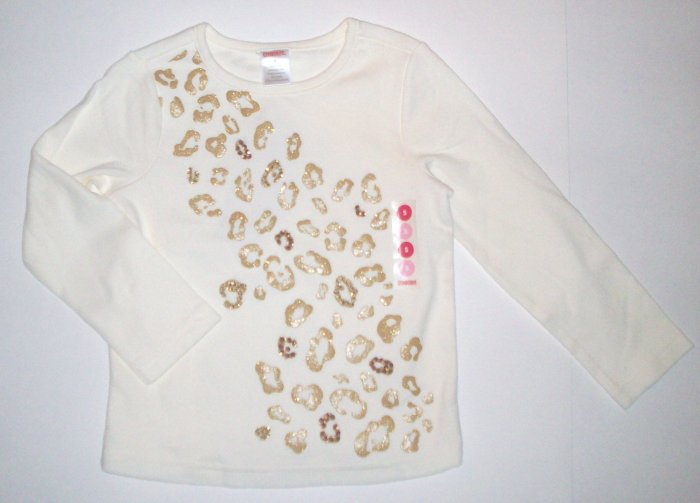 GYMBOREE NWT Glamour Kitty Top 5