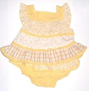 GYMBOREE NWT Prairie Ranch Top & Bloomer Set 0-3m