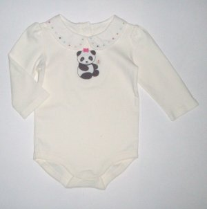 GYMBOREE NWT Little Panda Bodysuit 6-12m