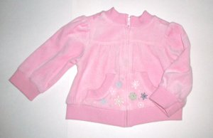 GYMBOREE NWT Snow Princess Velour Jacket 12-18m