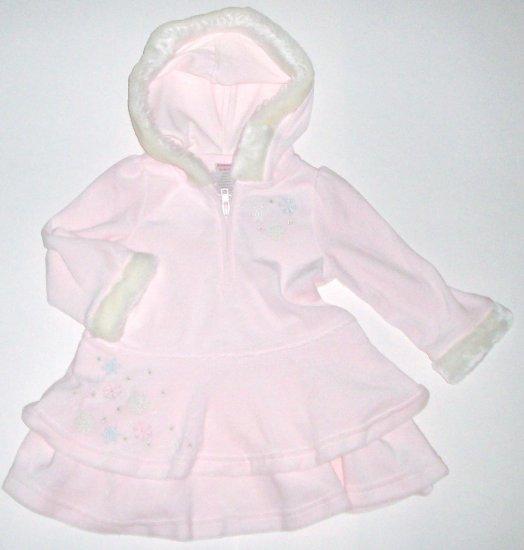 GYMBOREE NWT Snow Princess Velour Dress 12-18m
