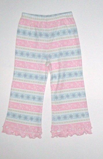 GYMBOREE NWT Snow Princess Snowflake Knit Pants 2T