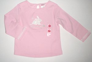 GYMBOREE NWT Snow Princess Pink Snow Bunny Top 2T