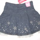 GYMBOREE NWT Snow Princess Denim and Tulle Skirt 3