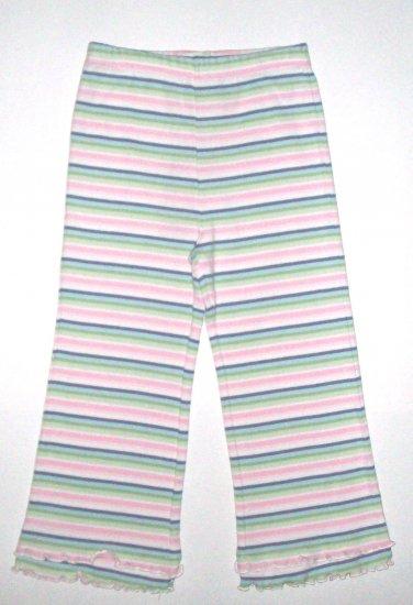 GYMBOREE NWT Snow Princess Striped Knit Pants 3T