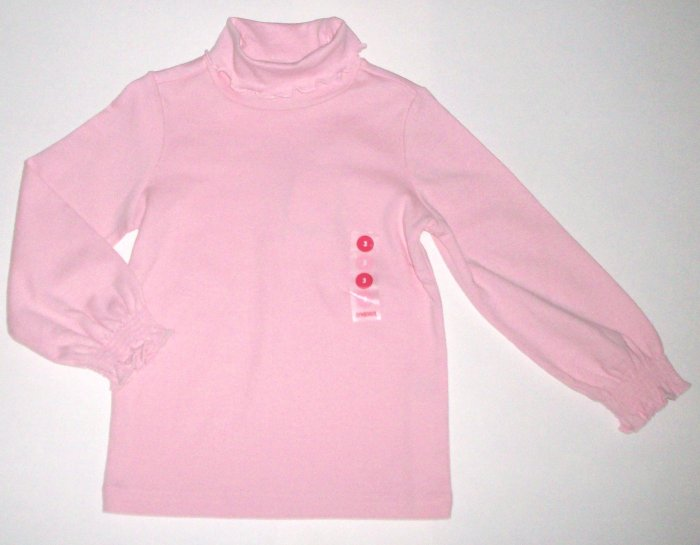GYMBOREE NWT Snow Princess Pink Turtleneck Top 3