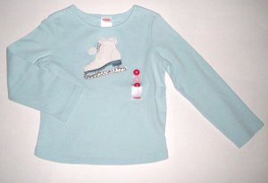 GYMBOREE NWT Snow Princess Ice-skate Top 3
