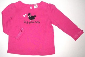 GYMBOREE NWT Tres Chic Pink Top 6-12m