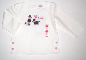 GYMBOREE NWT Tres Chic Best Friends Top 12-18m