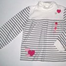GYMBOREE NWT Tres Chic Striped Top 12-18m