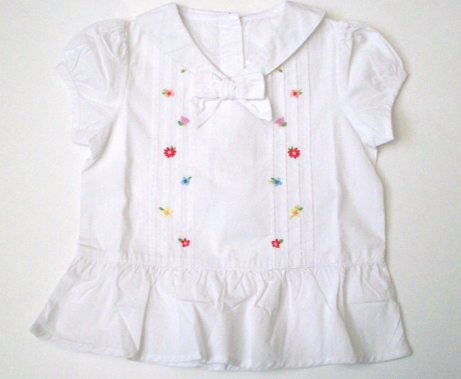GYMBOREE NWT Wish You Were Here White Top 2T