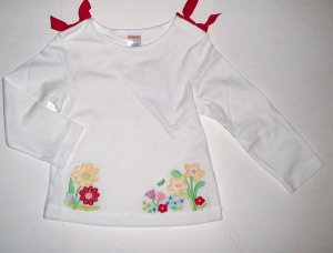 GYMBOREE NWT Wish You Were Here LS Top 3T
