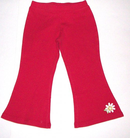 GYMBOREE NWT Wish You Were Here Red Knit Pants 4