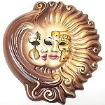 Heavenly Duet Wall Mask