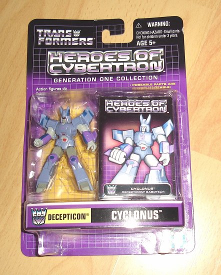 Heroes of Cybertron : G1 Cyclonus
