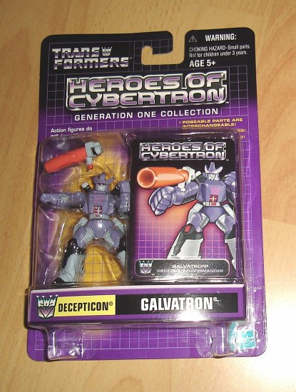 Heroes of Cybertron : G1 Galvatron
