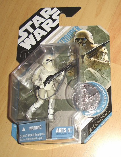 Star Wars 30th Anniversary : McQuarrie Signature Series Concept Snowtrooper