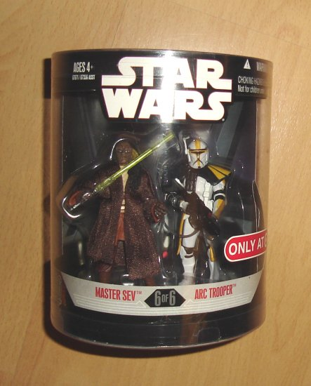 Star Wars Order 66 Series 2 : Master Sev / Yellow ARC Trooper