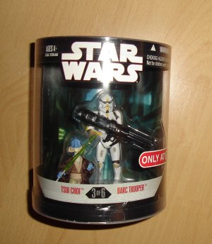Star Wars Order 66 Series 2 : Tsui Choi / Yellow BARC Trooper