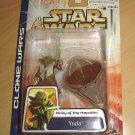 Star Wars - 2003 Clone Wars : Yoda w/ Hoverchair