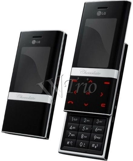 LG KE800 'Platinum' Mobile Cellular Phone (Unlocked)
