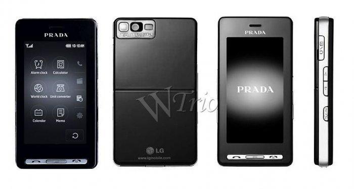 LG KE850 'Prada' MP3/Mobile Cellular Phone (Unlocked)