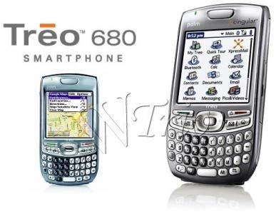 Palm Treo 680 Grey PDA/Mobile Cellular Phone (Unlocked) OEM