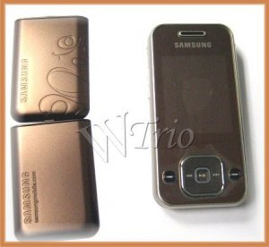 Samsung SGH-F250 'Coffee Brown' Mobile Cellular Phone (Unlocked