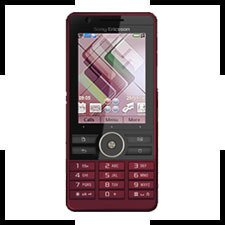Sony Ericsson G900i Red Unlocked Cellular Phone G900