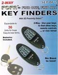 FOFA-XD 2-Way RF Key Finder with Feedback. SET OF 2