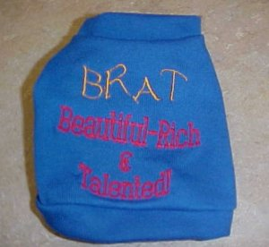 BRAT shirt X-small-Large