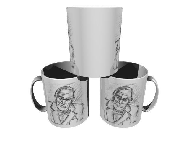 FDR Ceramic 11 oz Coffee Cup