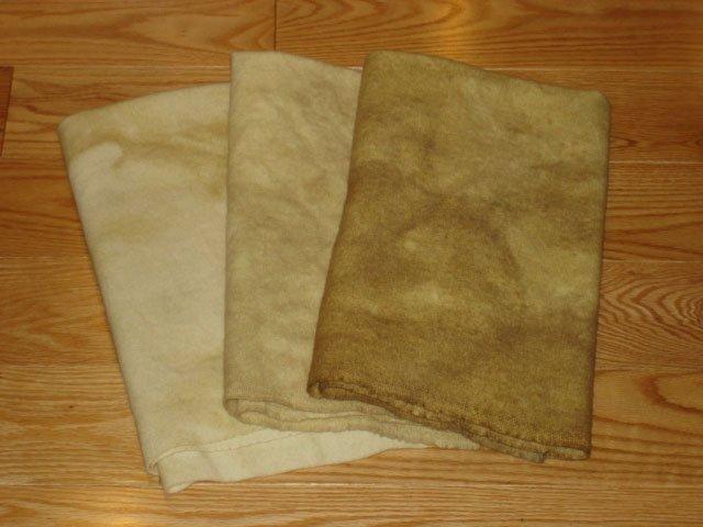 Prairie Wheat grads wool rug hooking -- Woolly Mammoth Woolens