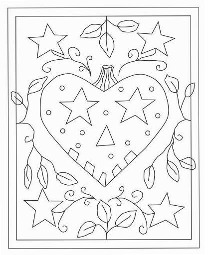 Falloween Rug Hooking Pattern, monk's cloth -- Woolly Mammoth Woolens
