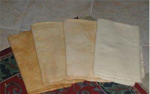 AMBER GLASS GRADS overdye wool rug hooking -- Woolly Mammoth Woolens