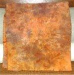 BUTTERSCOTCH SWIRL spot dye wool rug hooking 1/4 yard - Woolly Mammoth Woolens