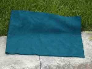 "MARINE BLUE ""as is"" wool rug hooking -- Woolly Mammoth Woolens"