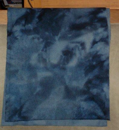 CIVIL WAR BLUE overdye wool for rug hooking -- Woolly Mammoth Woolens