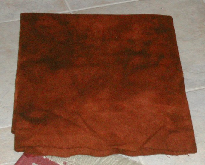 Indian Spice overdye wool for rug hooking -- Woolly Mammoth Woolens