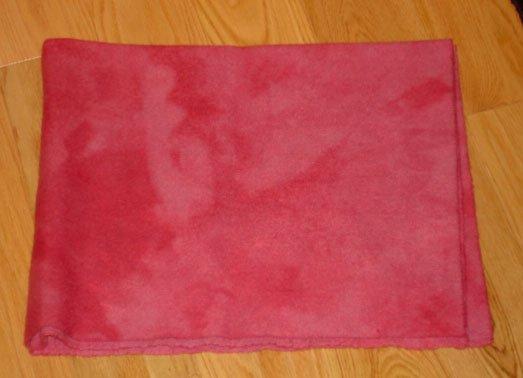 Raspberry Torte wool for rug hooking -- Woolly Mammoth Woolens