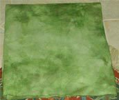 BAMBOO GREEN overdye wool for rug hooking -- Woolly Mammoth Woolens