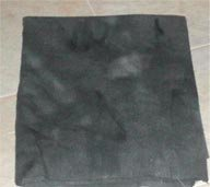 CHARCOAL overdye wool for rug hooking -- Woolly Mammoth Woolens