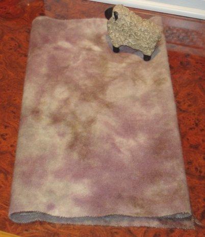 ROCKY LEDGE spot dye wool for rug hooking -- Woolly Mammoth Woolens