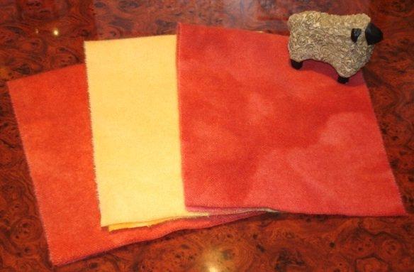 EQUATOR GLOW overdye wool for rug hooking -- Woolly Mammoth Woolens