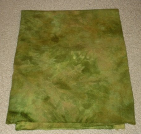 DARKER DANCING LEAVES spot dye wool rug hooking 1/4 yard -- Woolly Mammoth Woolens