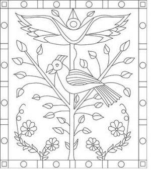 1812 rug hooking pattern -- Woolly Mammoth Woolens